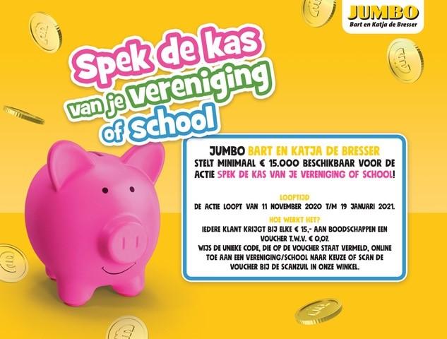 Spek de Kas van jouw vereniging of school bij Jumbo Bart en Katja de Bresser